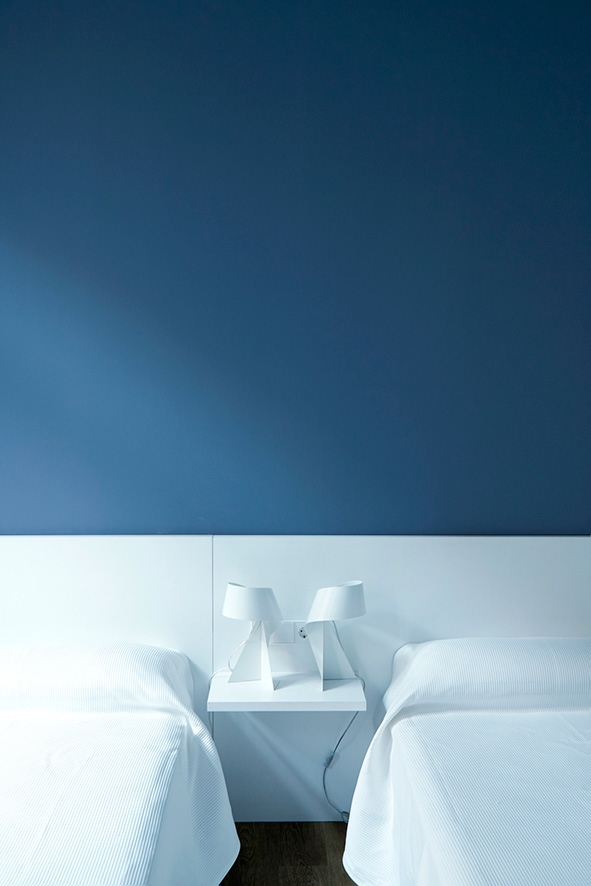 Esplai hotel Valencia slaapkamer