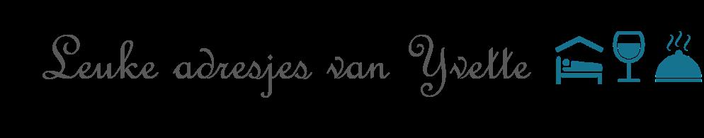 Leuke adresjes van Yvette